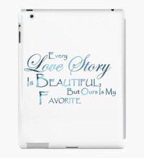 love quotes iPad Case/Skin