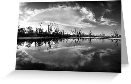 Cloud Burst by Steve Chapple