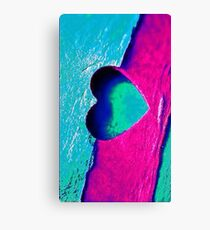 Love Abstrack Colour Bape Canvas Print
