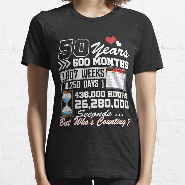 50.a camiseta divertida del aniversario de boda Camiseta esencial
