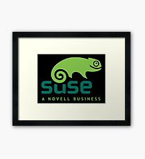 Open Suse Linux Merchandise Framed Print