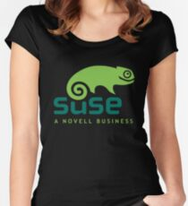 Open Suse Linux Merchandise Women's Fitted Scoop T-Shirt