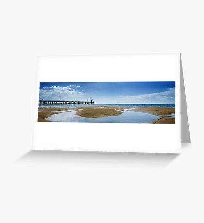 Point Lonsdale Jetty Greeting Card