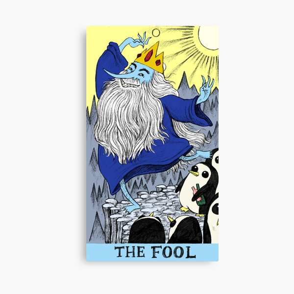 Ice King as The Fool Canvas Print