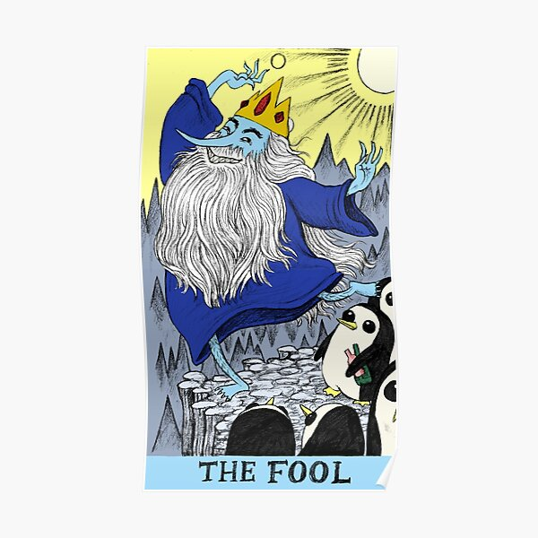 Ice King as The Fool Poster