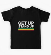 Get up Stand up / Reggae rasta vibrations Kids T-Shirt