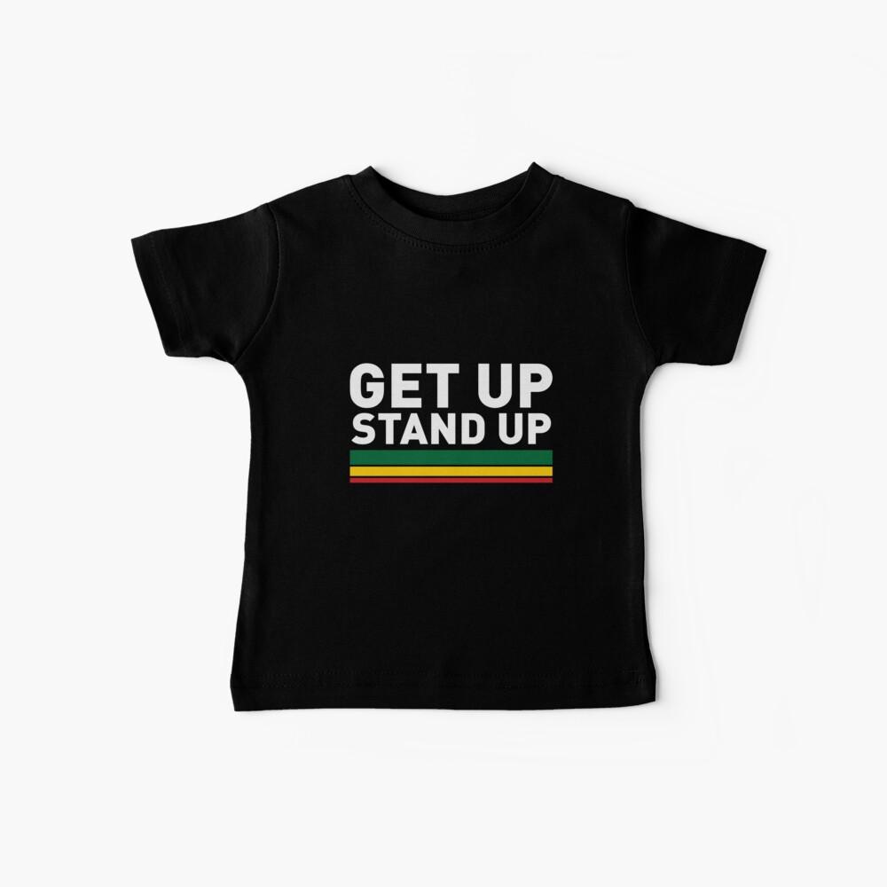 Get up Stand up / Reggae rasta vibrations Baby T-Shirt