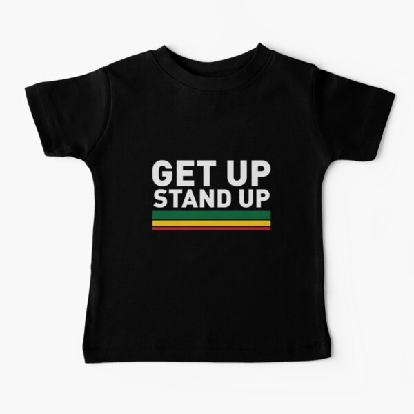 Get up Stand up / Reggae rasta vibrations Baby T-Shirt