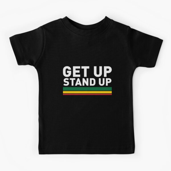 Get up Stand up / Reggae rasta vibrations Kids T-Shirt