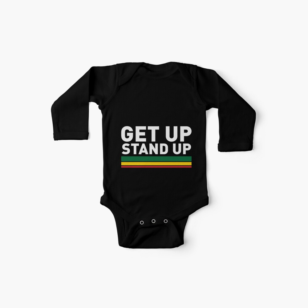 Get up Stand up / Reggae rasta vibrations Baby One-Pieces