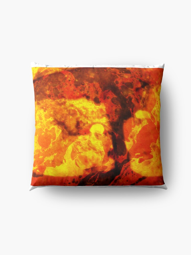 Alternate view of LAVA KISSES DEUCE  Floor Pillow