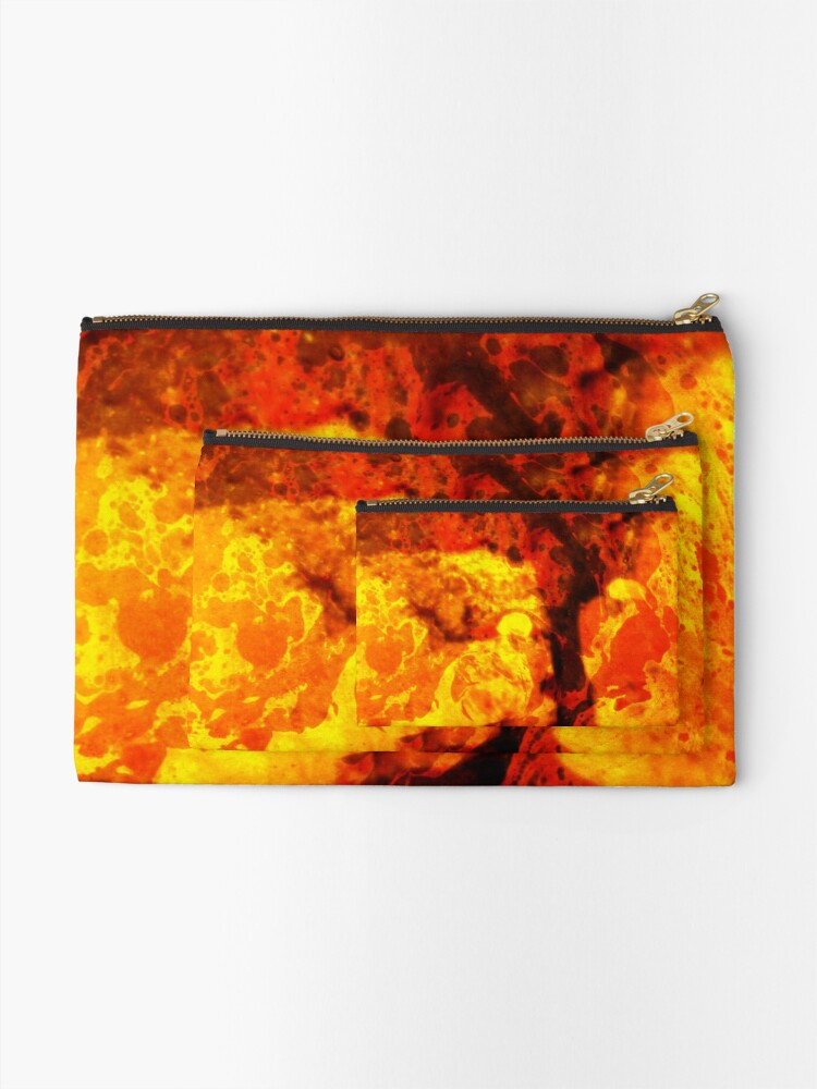 Alternate view of LAVA KISSES DEUCE  Zipper Pouch