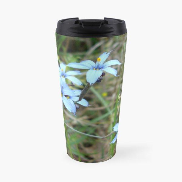 Blue-eyed Grass Travel Mug