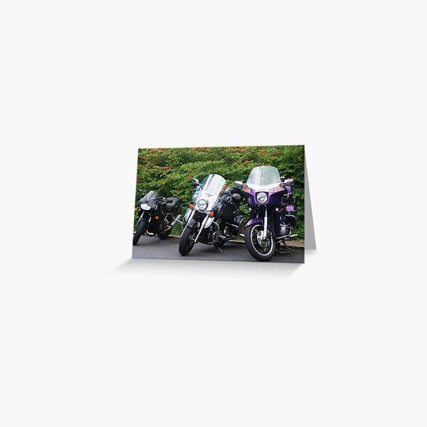 More bikes Greeting Card