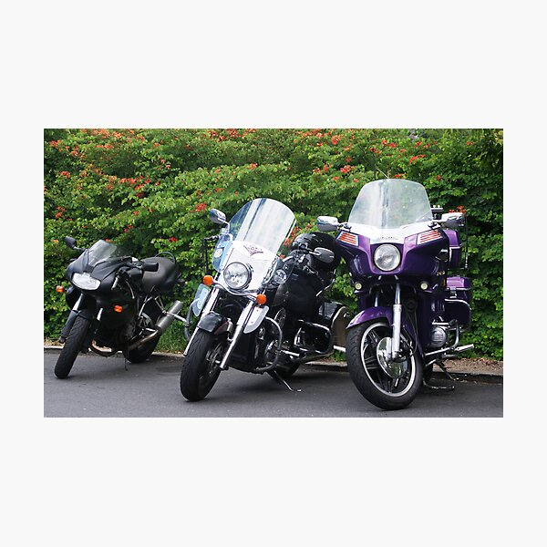 More bikes Photographic Print