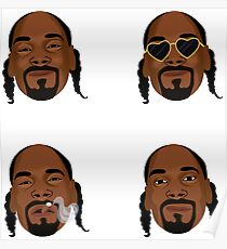 Snoop Dogg Kunstausdrücke Poster