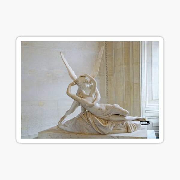 Psyche Revived by Cupid's Kiss Sticker