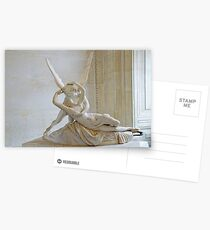 Psyche Revived by Cupid's Kiss Postcards