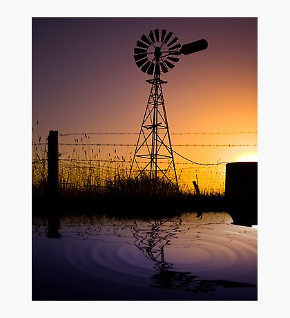 The Great Aussie Windmill Photographic Print