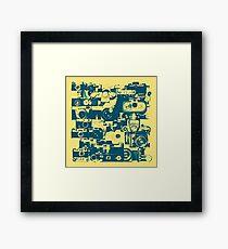 analogue legends Framed Print