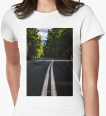 Road Trip Adventures Through Australia Women's Fitted T-Shirt