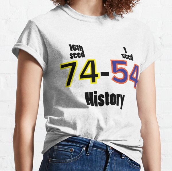 Historical UMBC vs UVA win 1st round March Madness Win History Has been Made Tee Shirt 74-24 College Basketball Classic T-Shirt