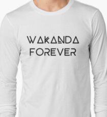Camiseta de manga larga WAKANDA PARA SIEMPRE