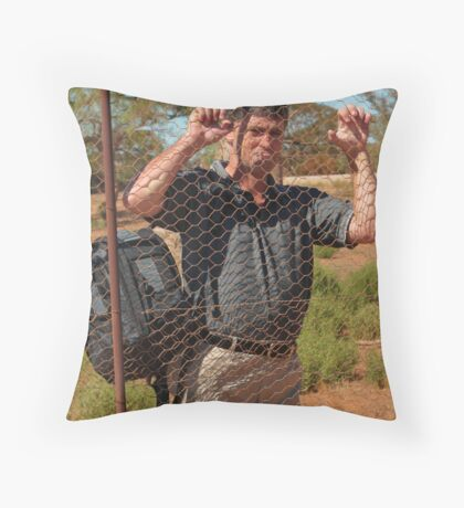 Dont Fence Me In.. Throw Pillow