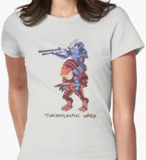 Turianosaurus Wrex Women's Fitted T-Shirt