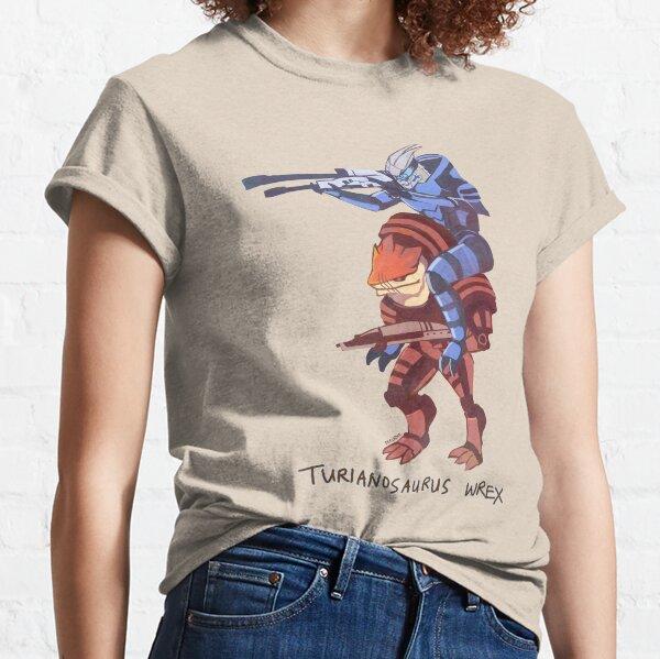 Turianosaurus Wrex T-shirt classique