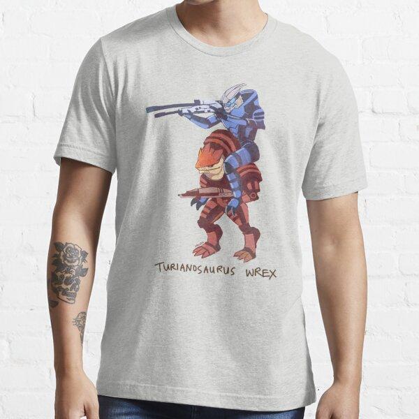 Turianosaurus Wrex Essential T-Shirt