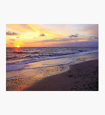 Sunset in Jylland Photographic Print