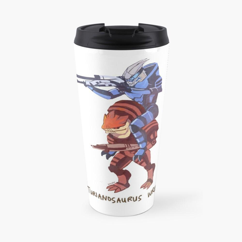 Turianosaurus Wrex Travel Mug