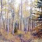 Aspens In the Pink by Vickie Emms