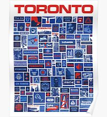 Totally Toronto Poster and T Shirt Poster