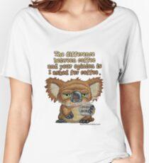 Drop Bear Coffee Women's Relaxed Fit T-Shirt