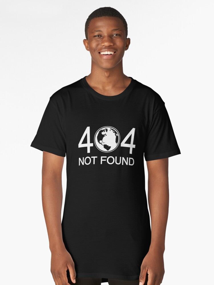 Not Found Long T-Shirt Front
