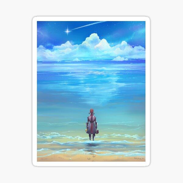 Seashores of Eternity Sticker