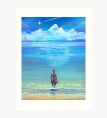 Seashores of Eternity Art Print