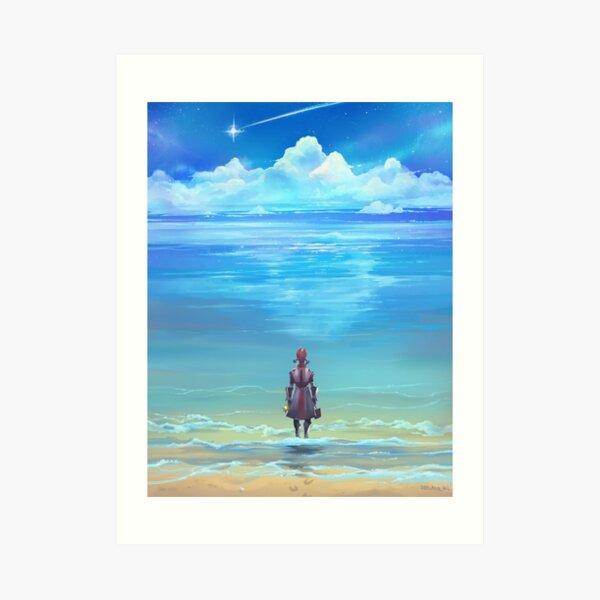 Seashores of Eternity Art Print