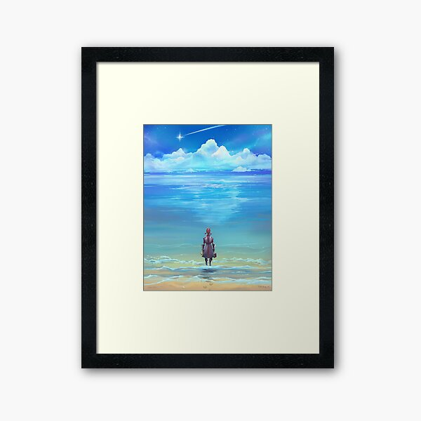 Seashores of Eternity Framed Art Print