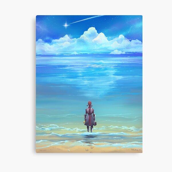 Orillas del mar de la eternidad Lienzo