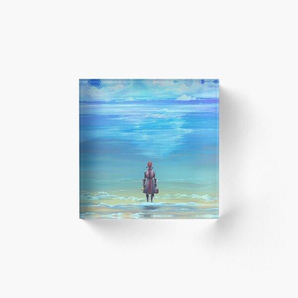 Seashores of Eternity Acrylic Block