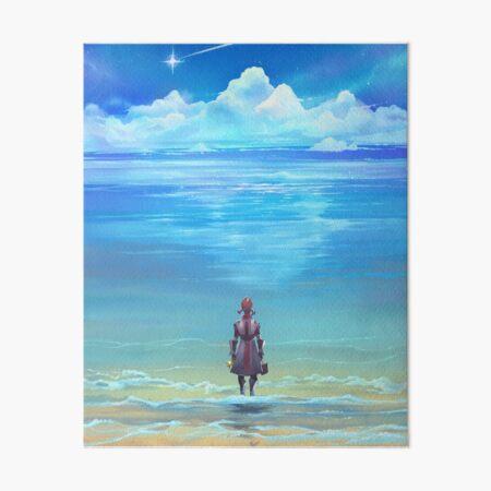 Seashores of Eternity Art Board Print