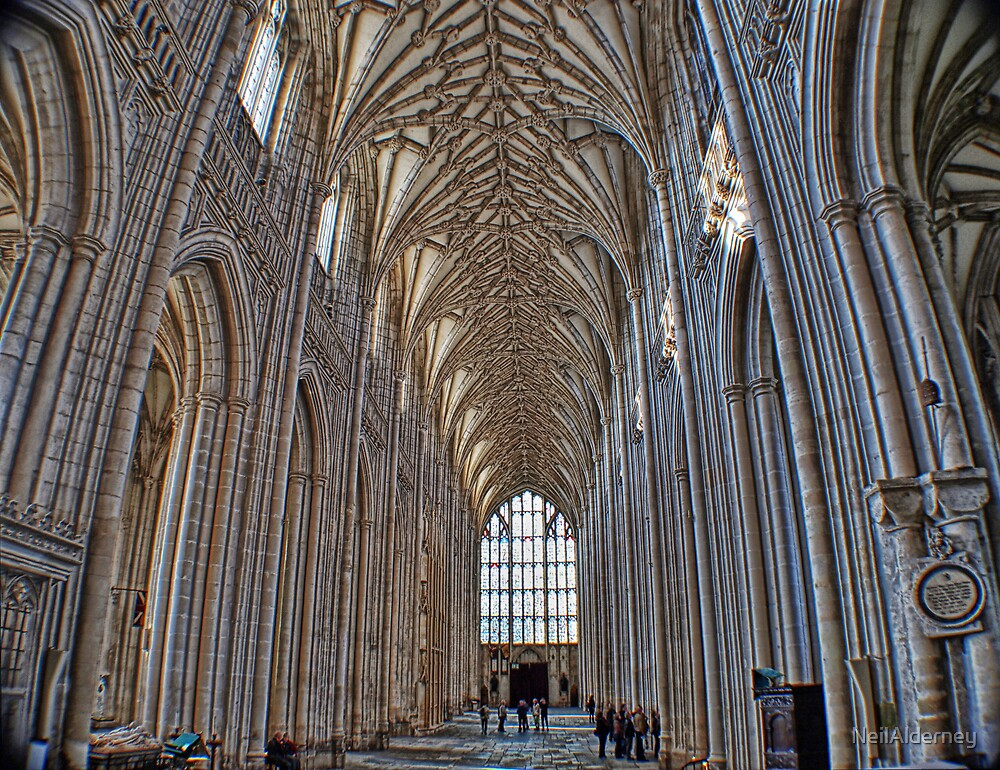 Winchester Catedral - The Nave by NeilAlderney