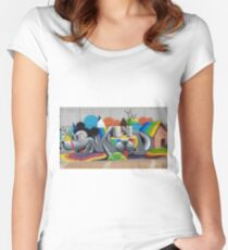 Just My Imagination ....  Women's Fitted Scoop T-Shirt
