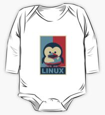 Linux Baby Tux One Piece - Long Sleeve