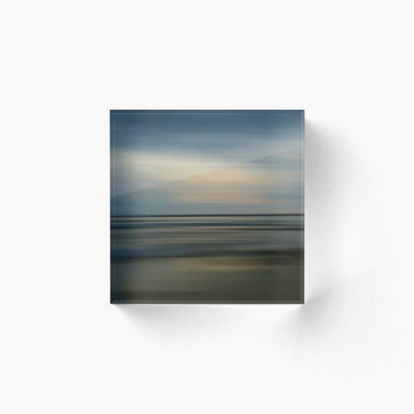 Twilight on Traeth Crigyll Acrylic Block