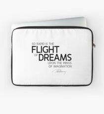 flight of dreams - alexandre dumas Laptop Sleeve