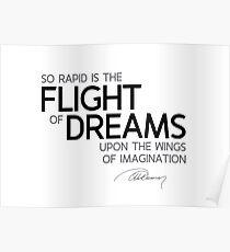 flight of dreams - alexandre dumas Poster